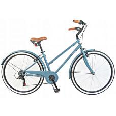 """Hellobikes NOBILITI női kerékpár 28"""" - Kék"""