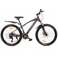 """Carbon NEO férfi kerékpár 26"""" - fekete/piros Előnézet"""