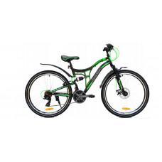 """Kerékpár RAYON Adventure  26"""" - fekete/zöld Előnézet"""