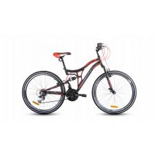 """Kerékpár RAYON Adventure  26"""" - fekete/piros Előnézet"""