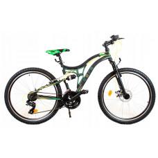AMTRAK MTB hegyi kerékpár 26' - Zöld Előnézet
