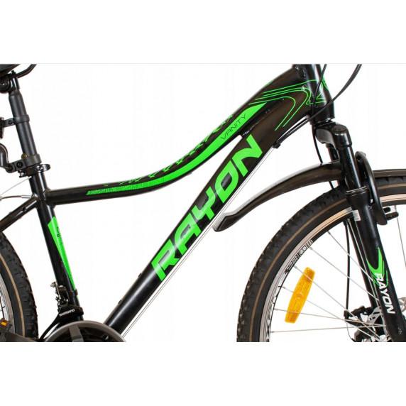 """Kerékpár RAYON Vanity  26"""" - fekete/zöld"""