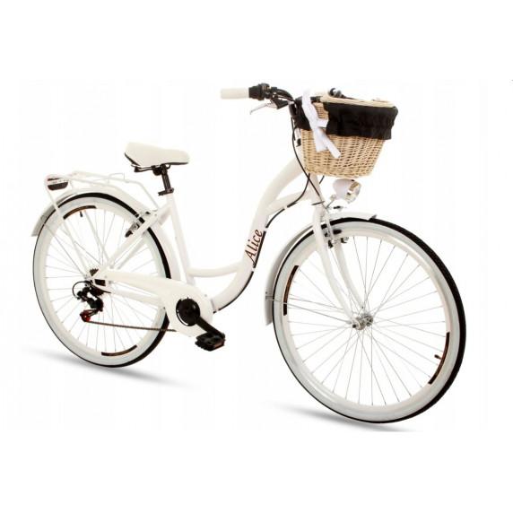 """Női kerékpár ALICE 28"""" - fehér"""