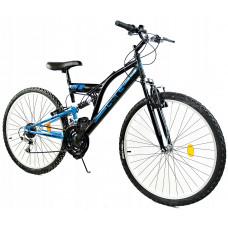 """GOETZE CORE férfi kerékpár 24"""" - fekete/kék Előnézet"""