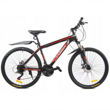 """CARBON NEON férfi kerékpár 26"""" - fekete/piros Előnézet"""
