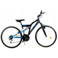 """GOETZE CORE férfi kerékpár 26"""" - fekete/kék"""