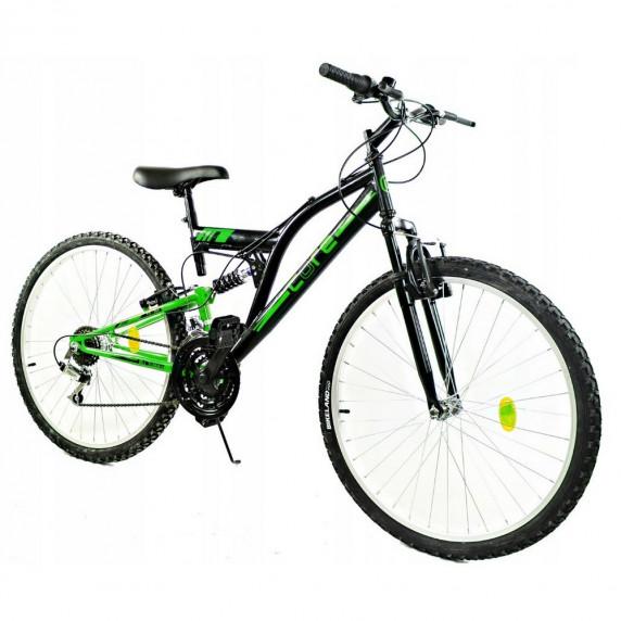 """GOETZE CORE férfi kerékpár 26"""" - fekete/zöld"""