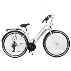 """KANDS Galileo Lady női kerékpár 28"""" - fehér/kék Előnézet"""