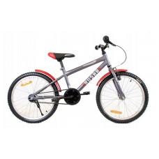 "HUSAR Gyerek bicikli 20"" - szürke/piros Előnézet"