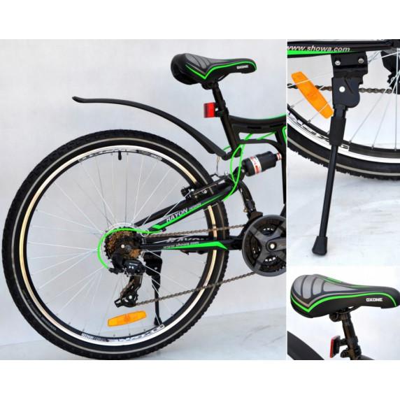 """Kerékpár RAYON Adventure  26"""" - fekete/zöld"""