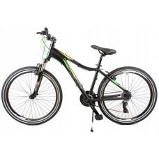 """KANDS SLIM hegyi kerékpár ALU 26"""" - fekete/zöld Előnézet"""