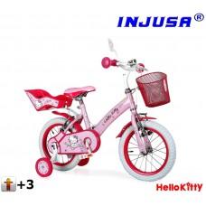 """INJUSA Hello Kitty 2017 gyerek bicikli 12"""" Előnézet"""
