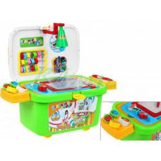 Inlea4Fun Learning Table gurulós játszó doboz 3az1-ben Előnézet
