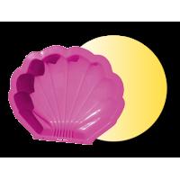 Inlea4Fun Nagy Kagyló homokozó - rózsaszín