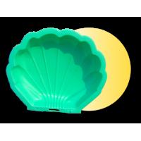 Inlea4Fun Nagy Kagyló homokozó - zöld
