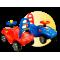 Inlea4Fun Mini Mobile lábbal hajtós kisautó