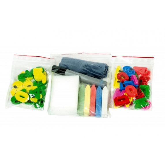 Inlea4Fun TEDDY MOP állványos mágnes- és rajztábla - Lila