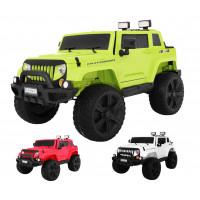 Inlea4Fun Mighty Jeep 4x4 elektromos kisautó