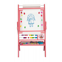 Inlea4Fun BIG PINK forgatható mágnes- és rajztábla