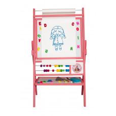 Inlea4Fun BIG PINK forgatható mágnes- és rajztábla  Előnézet