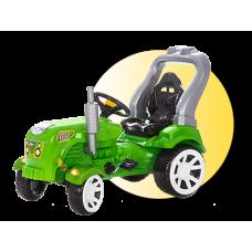 Inlea4Fun Big Farmer pedálos traktor - Zöld Előnézet