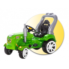 Inlea4Fun Big Farmer pedálos traktor Előnézet