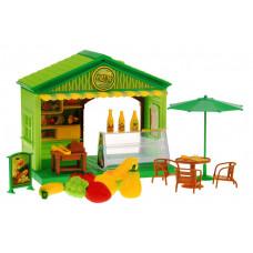 Inlea4Fun Fruit Shop gyümölcsárus házikó Előnézet