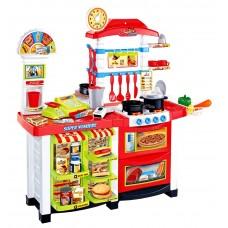 Inlea4Fun játékkonyha és piaci stand 2az1-ben Előnézet