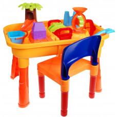 Inlea4Fun Sand and Water Table vizes homokozó asztal Előnézet