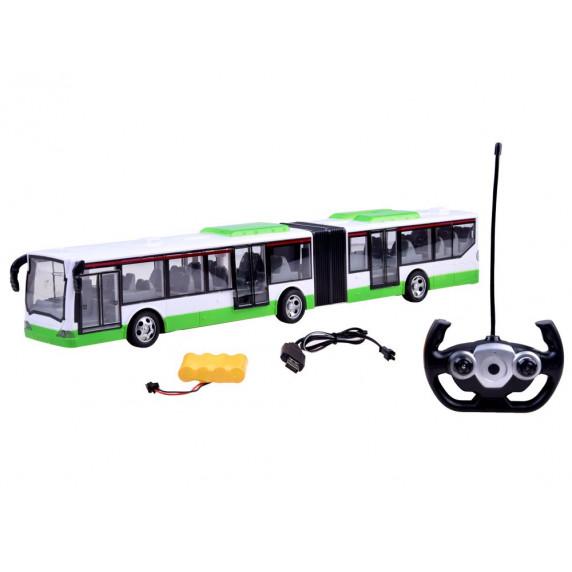Távirányítós autóbusz Inlea4Fun RC BUS-G - zöld