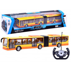 Inlea4Fun RC BUS-G Távirányítós autóbusz - sárga Előnézet