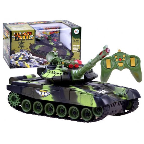 RC Tank WAR TANK Távirányítós tank Inlea4Fun - terepmintás