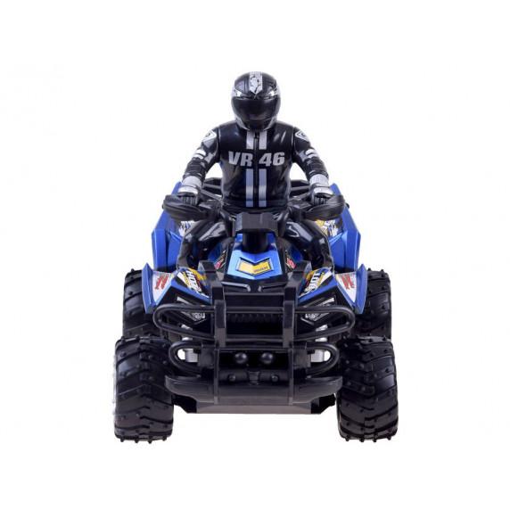 Távirányítós kisautó RC Inlea4Fun QUAD CROSS COUNTRY - kék