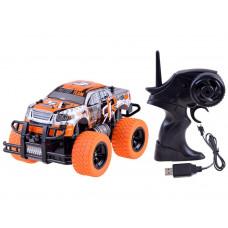 Távirányítós autó Inlea4Fun MONSTER TRUCK - narancssárga Előnézet