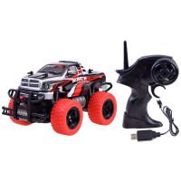 Távirányítós autó Inlea4Fun MONSTER TRUCK - piros