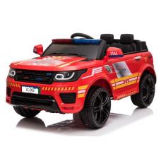 Inlea4Fun JC002 Tűzoltó Elektromos kisautó - piros Előnézet
