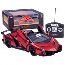 Inlea4Fun RC Távirányítós autó Lamborghini Veneno 1:14 - piros Előnézet