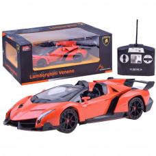 Inlea4Fun RC Távirányítós autó Lamborghini Veneno 1:14 - narancssárga Előnézet