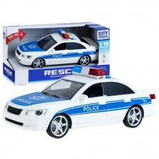 Inlea4Fun City Service rendőrautó hang- és fényhatásokkal 24 cm Előnézet