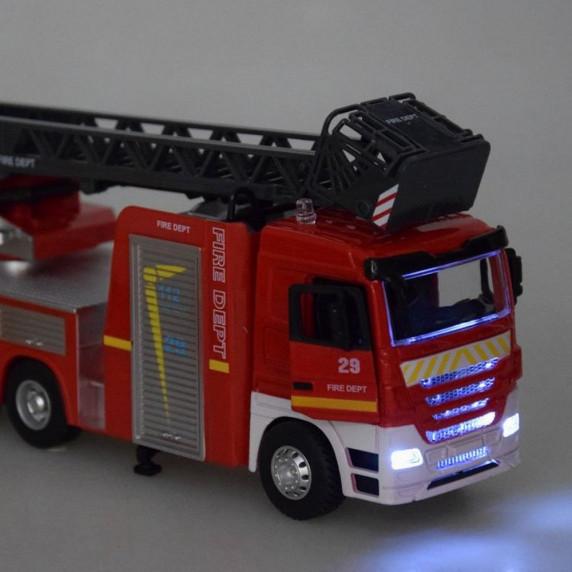 Tűzoltóautó fény- és hanghatásokkal Inlea4Fun CAST MODEL