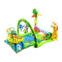 Játszószőnyeg interaktív kis asztallal Inlea4Fun HAPPICUTE BABY