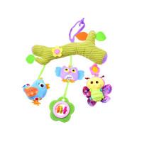 Felakasztható babajáték kiságyra/babakocsira Inlea4Fun - állatfigurás