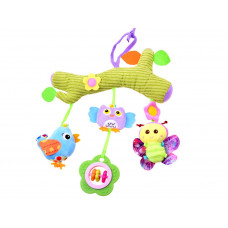 Felakasztható babajáték kiságyra/babakocsira Inlea4Fun - állatfigurás Előnézet
