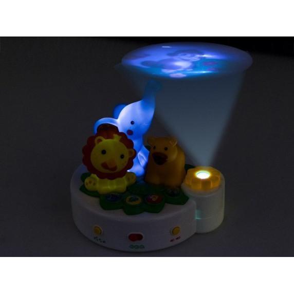 Gyerek lámpa kivetítővel Inlea4Fun ANIMAL PROJEKTOR