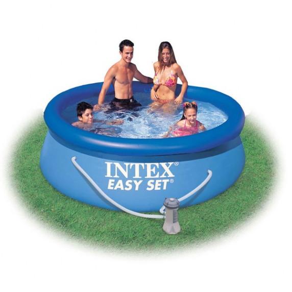 INTEX 28112NP Easy Set medence 244x76 cm papírszűrős vízforgatóval
