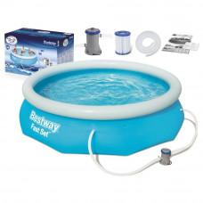BESTWAY 57270 Fast Set 305x76 cm medence vízforgatóval  Előnézet