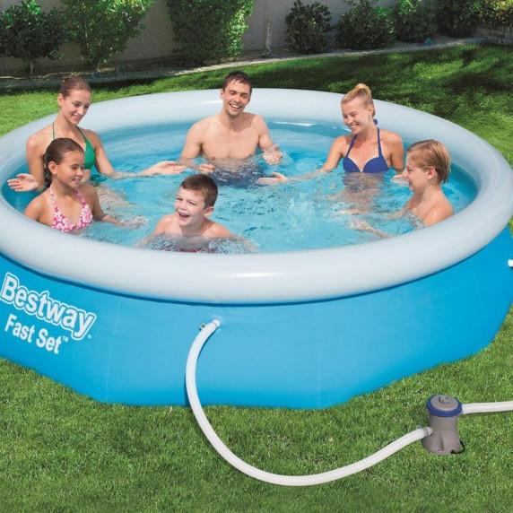 BESTWAY 57270 Fast Set 305x76 cm medence vízforgatóval