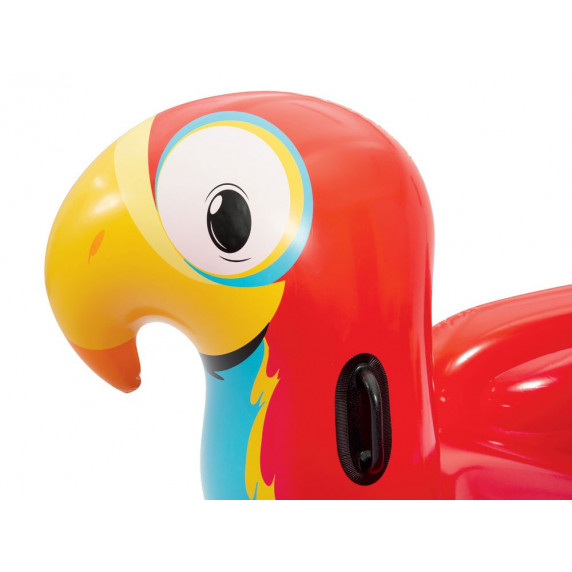 BESTWAY 41127 Felfújható papagáj matrac 203x132 cm