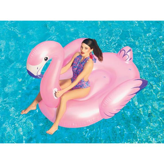 BESTWAY 41119 Felfújható  flamingó lovagló matrac 173x170 cm