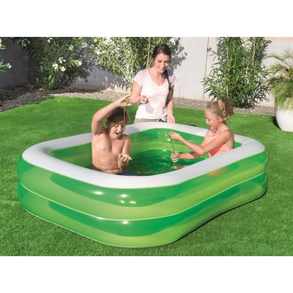 Családi medence BESTWAY Family 201x150x51 cm - zöld